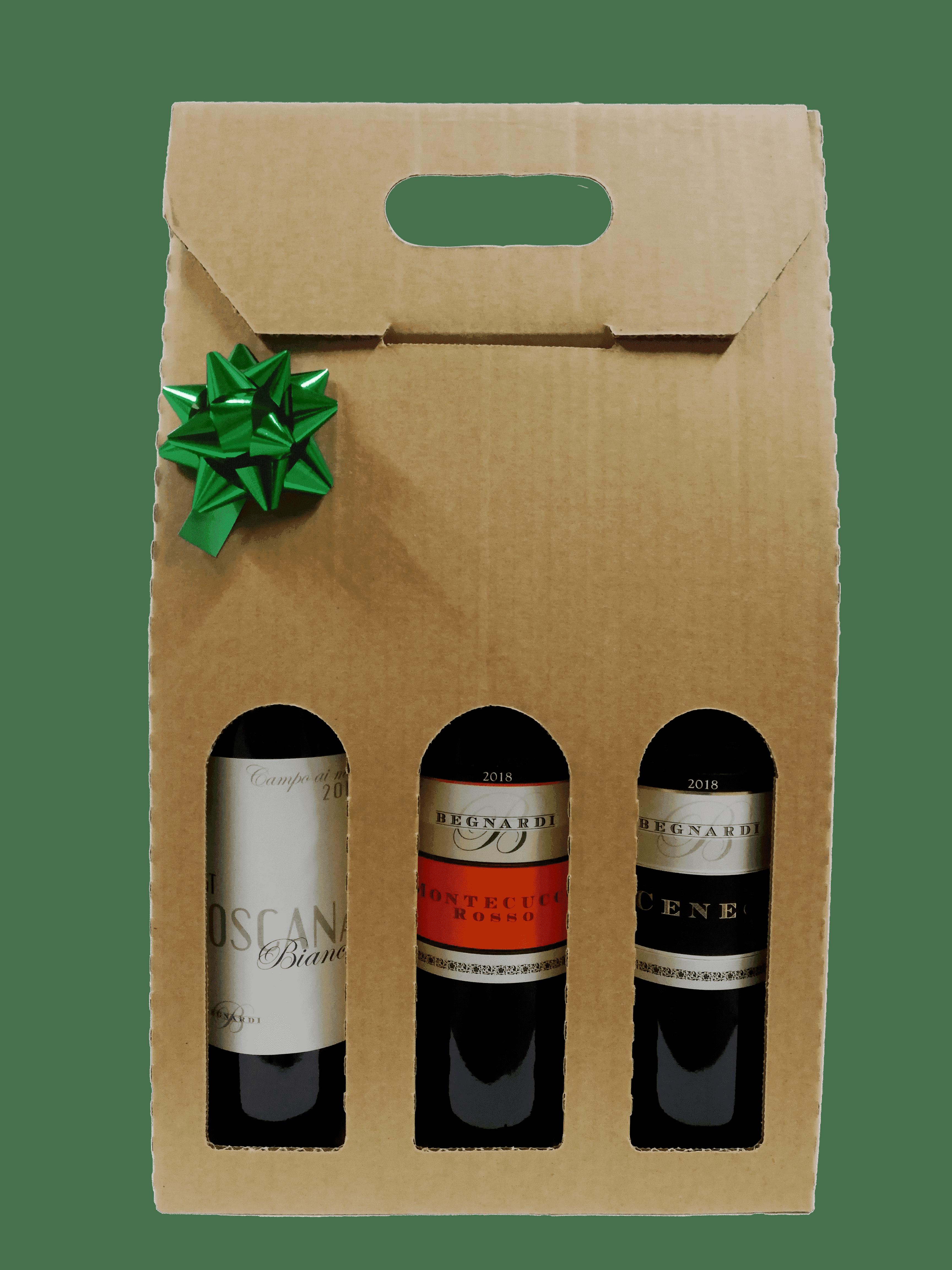 Pacchi di natale vino