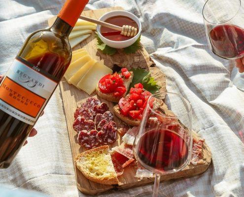 Degustazione vino ed olio